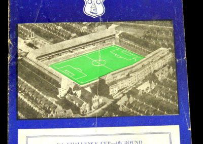 Blackburn Rovers v Everton 25.01.1958 | FA Cup 4th Round