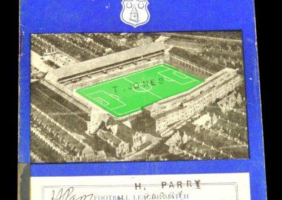 Luton Town v Everton 01.02.1958