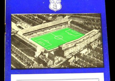 Leicester City v Everton 15.02.1958