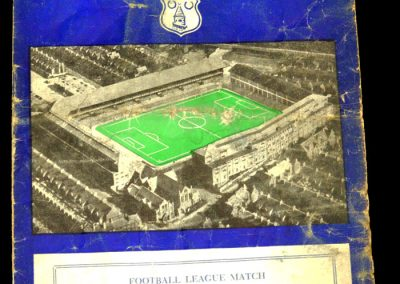 Newcastle United v Everton 22.02.1958