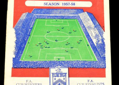 Burnley FC v Everton 01.03.1958