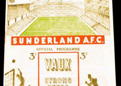 Sunderland v Manchester United 08.04.1955
