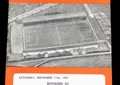 Swindon v Shrewsbury 11.11.1961