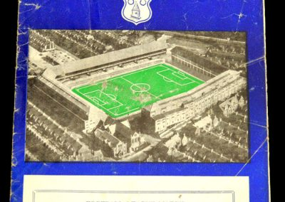 Preston North End v Everton 08.03.1958