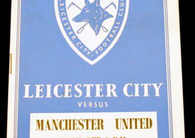 Leicester City v Manchester United 09.04.1955