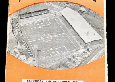 Swansea Town v Rotherham United 18.11.1961