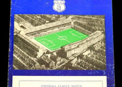 Portsmouth v Everton 22.03.1958