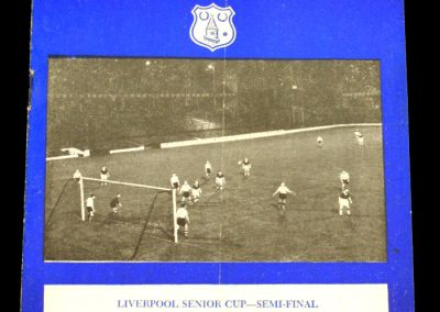 Liverpool v Everton 25.03.1958 | Senior Cup - Semi Final