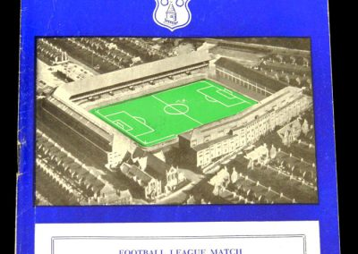Leeds United v Everton 04.04.1958