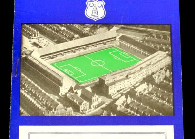 Tottenham Hotspur v Everton 05.04.1958