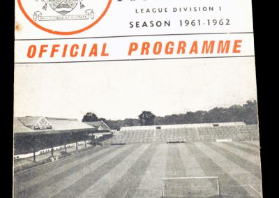 Fulham FC v Walsall 27.01.1962 | FA Cup 4th Round