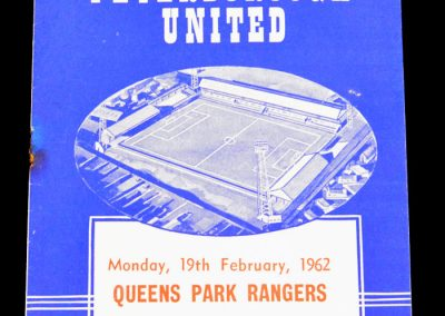 Queens Park Rangers v Peterborough United 19.02.1962