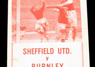 Sheffield United v Burnley 10.03.1962 | FA Cup 6th Round