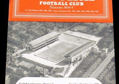 Coventry City v Arsenal 22.01.1955
