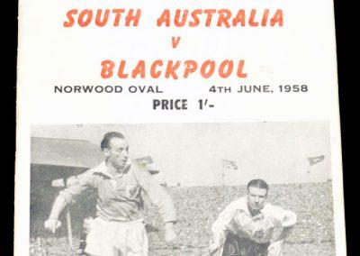 South Australia v Blackpool 04.06.1958