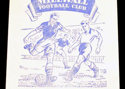 Millwall FC v Arsenal Reserves 14.03.1955