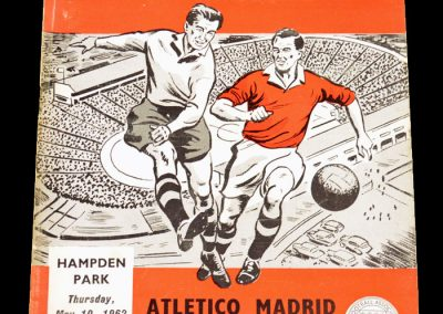 Athletico v Fiorentina 10.05.1962 | Euro Cup Winners Cup final