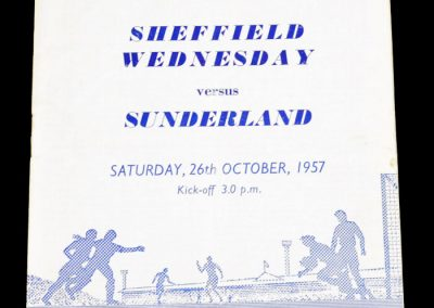 Sheffield Wednesday v Sunderland 26.10.1957