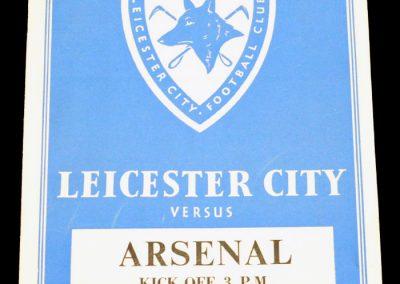 Leicester City v Arsenal 02.10.1954