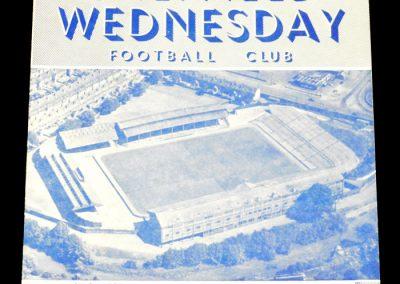 Sheffield Wednesday v Arsenal 09.10.1954
