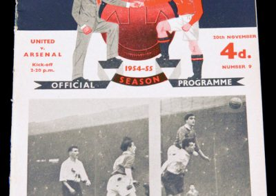 Manchester United v Arsenal 20.11.1954