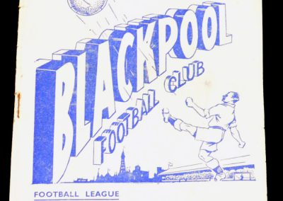 Blackpool v Arsenal 04.12.1954 | FA Cup 4th Round