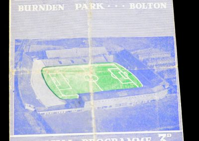 Bolton Wanderers v Stoke City 15.02.1958 | FA Cup 5th Round