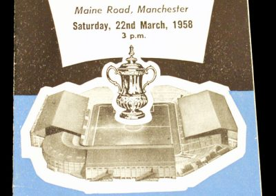 Bolton Wanderers v Blackburn Rovers 22.03.1958 | FA Cup Semi Final