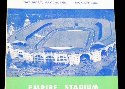 Bolton Wanderers v Manchester United 03.05.1958 | FA Cup Final