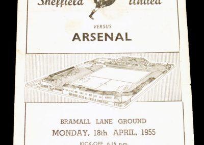 Sheffield United v Arsenal 18.04.1955