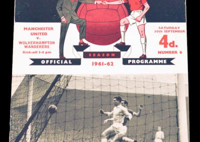 Wolverhampton Wanderers v Manchester United 30.09.1961