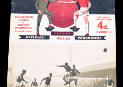 Bolton Wanderers v Manchester United 28.10.1961