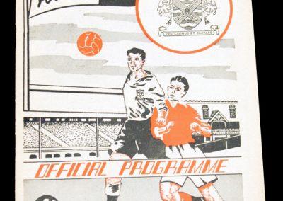 Fulham v Middlesbrough FC 21.04.1958 | Postponed