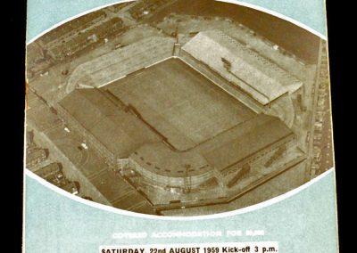 Nottingham Forest v Manchester City 22.08.1959