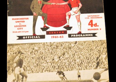 Leicester City v Manchester United 11.11.1961
