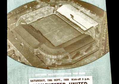 Manchester United v Manchester City 19.09.1959