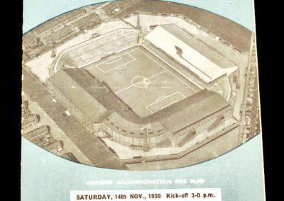 Manchester City v Chelsea 14.11.1959