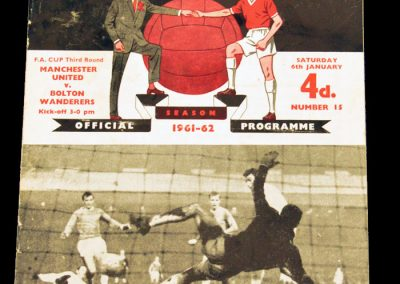Bolton Wanderers v Manchester United 06.01.1962 | FA Cup 3rd Round