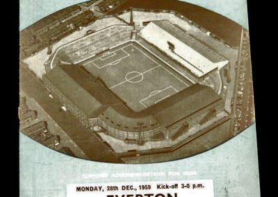 Everton v Manchester City 28.12.1959