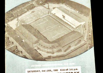 Sheffield Wednesday v Manchester City 02.01.1960