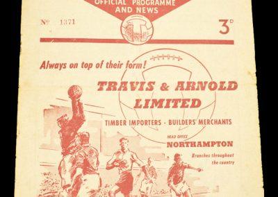 Northampton Town v Southampton 15.03.1958