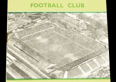 Norwich City v Southampton 29.03.1958