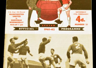 Sheffield Wednesday v Manchester United 17.02.1962 | FA Cup 5th Round