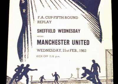 Sheffield Wednesday v Manchester United 21.02.1962 | FA Cup 5th Round Replay
