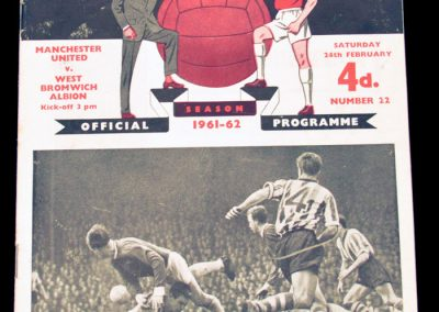 West Bromwich Albion v Manchester United 24.02.1962