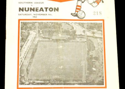 Nuneaton v Southern League 09.11.1963