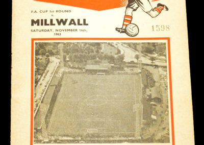 Millwall v Kettering Town FC | FA Cup 1st Round