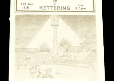 Cambridge United v Kettering 18.01.1964