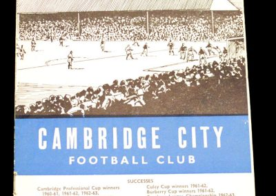 Cambridge City v Kettering 22.02.1964