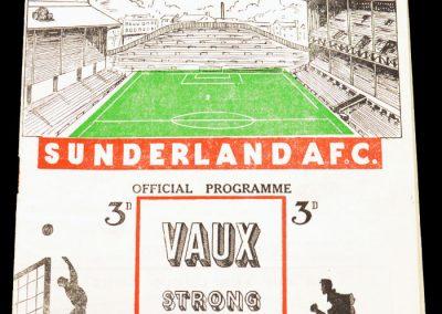 Sunderland v Newcastle United 09.10.1954